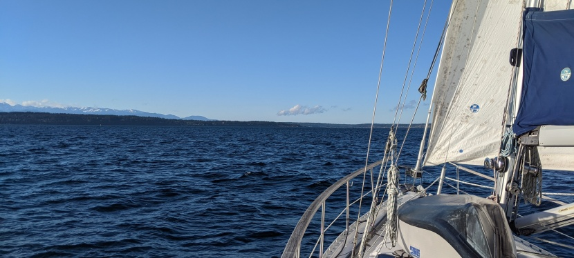 Sailing with Puget Sound's tides and currents
